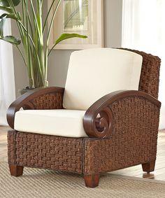 Home Styles Cinnamon Cabana Banana Chair by Home Styles #zulily #zulilyfinds