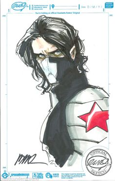 Winter Soldier by Humberto Ramos