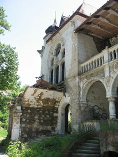 The abandoned Spitzer Castle in Beocin, Serbia. Built in 1898, the family…