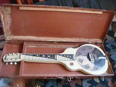 1956 Vintage National Reso-phonic Resonator Dobro Guitar - http://www.dobroguitar.org/for-sale/1956-vintage-national-reso-phonic-resonator-dobro-guitar-4/21316/