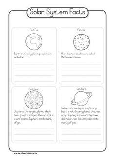Solar System Facts (C2, W9)