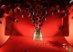 >>>Cheap Sale OFF! >>>Visit>> Louis vuitton window display with flowers - Zoe Bradley Window Display Design, Store Window Displays, Fashion Window Display, Shop Displays, Retail Windows, Store Windows, Visual Merchandising, Flower Window, Bag Display