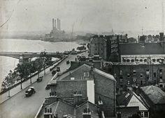Lots Road & Battersea bridge, c 1910