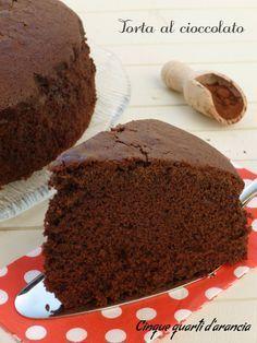 torta al cioccolato