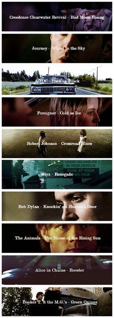 [gifset] Supernatural soundtrack season 2
