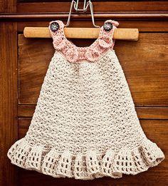 Ravelry: Halter Ruffle Dress pattern by Mon Petit Violon.