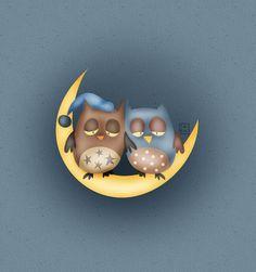 'Sleepy Hoots' by Carina Povarchik