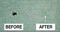 Holes in your favorite shirt? Forget the needle and thread – just check out this genius trick