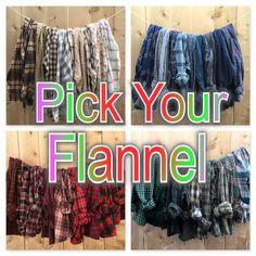Oversized Vintage Flannels L large XL plaid flannel shirts, grunge baggy comfy worn. by RestoredRose on Etsy