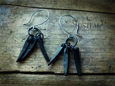 Claws  Black  wooden handmade viking claw black by Osteal on Etsy
