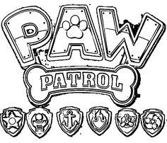 Paw Patrol coloring pages Paw Patrol Coloring Pages, Quote Coloring Pages, Adult Coloring Book Pages, Disney Coloring Pages, Colouring Pages, Coloring Sheets, Coloring Pages For Kids, Coloring Books, Kids Coloring