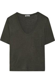9a46fca5f1870 T by Alexander Wang - Jersey T-shirt