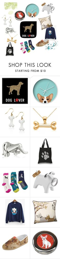 """""""Things about the doggy"""" by chloe1013 ❤ liked on Polyvore featuring PTM Images, Dot & Bo, Allurez, B. Paoletti, Los Angeles Pop Art, Joules, Umbra and Jovi Home"""