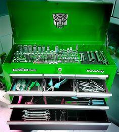 Sealey tool chest 9 drawer ball bearing 'transformer'