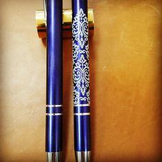 pen engraved with diamond #gravezro