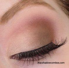 MAC eyeshadows: 'Blanc Type' (inner half of lid, blend and highlight), 'Cork' (outer half of lid), 'Brown Script' (crease) Beauty Makeup Tips, Eye Makeup, Beauty Hacks, Hair Makeup, Hair Beauty, Neutral Eyeshadow, Mac Eyeshadow, Colorful Eyeshadow, Eyeshadows