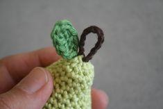 Pear key chain   lilleliis