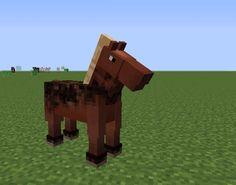 Minecraft Horse, All Minecraft, Minecraft Ideas, Legos, Nerf, Minions, Video Games, Pokemon, Horses