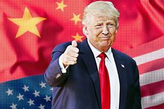 Chinese state-media publications are among Trump's most dedicated—and unlikely—supporters.