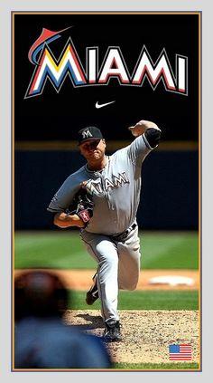 Baseball Photos, Baseball Cards, Miami Marlins, Mlb, History, Sports, Hs Sports, Baseball Pictures, Historia