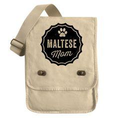 Maltese Mom Field Bag