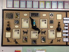 Class Displays, English Resources, Neutral, Gallery Wall, Teaching, Frame, Corner, Artists, Activities