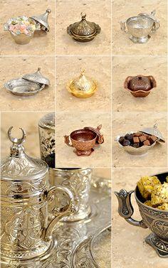 Aksesuar bölümümüz; tepsi, lokumluk ve kahve takımları seçenekleri ile beğeninize sunulmuştur. #bakır #gümüş #altın #lokumluk #turkish #delight #haciserif #hacışerif #4441938 http://www.haciserif.com.tr/aksesuar