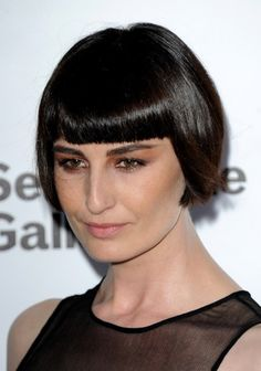 Flapper+Hairstyles+for+Short+Hair | picture of erin o connor bob hairstyles getty images hairstylesweekly ...