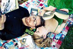EventTagious Daily Inspiration Blog: Comic Book Engagement Photos