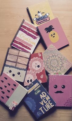 Create your own note books #Back to School