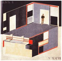 source is missing on this, but I think it is by El Lissitzky