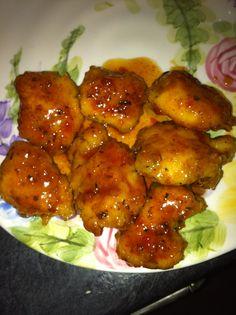 Honey Chipotle Chicken Bites☀CQ  #chicken #recipes