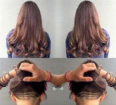 Long Undercut Haircut, this is soooooo cool!!! But would take a lot of upkeep to keep it short.