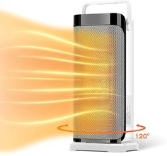 Space Heater for Office - Portable Electric Ceramic Quiet Tower Heater Fan with Thermostat, Fast Heating, 120°Oscillating Efficient for Personal Home Bedroom Large Room Bathroom Under Desk Indoor Use Best Space Heater, Tower Heater, Home Bedroom, Old Things, Indoor, Desk, Ceramics, Grande, Tired