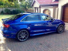 #BBS #CHR wheels on #Audi #S3. True balance!