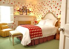 Inn By the Sea Vera Bradley hotel in Seaside Florida U. - Discount Seaside hotels search offers hotel discount rates to FL U. Seaside Florida, Florida Hotels, Always Kiss Me Goodnight, Good Night Sweet Dreams, Dream Rooms, Girl Room, Home And Family, Room Decor, Cottage