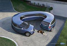 Awesome flexible concept car