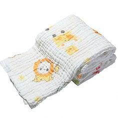 Nuova offerta  : Lucear Asciugamano Neonato Bagno Bambino Baby Bath Towel in Mussola Cotone Nido d'Ape Toeletta con Stampa di Animale a soli 14.44 EUR. Affrettati! hai tempo solo fino a 2016-09-29 23:29:00
