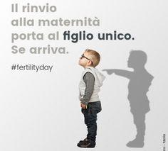 FERTILITY DAY CARTOLINA FIGLIO UNICO. Dopo questa ennesima nefandezza Lorenzin si dimetta SUBITO!