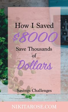 How I Saved $8000 Dollars Completing the Thousand Dollar Savings Challenge 8 Times | Saving, Investing and Growing Wealth | Building Financial Independence | Side Hustles & Earning Money Online | #sidehustle #FIRE #FIOR #savingschallenge #makemoneyonline