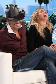 Tim McGraw and Faith Hill Can't Keep It Together During a Game of Never Have I Ever
