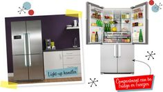 good grub lives in a great fridge ~ AMERICAN STYLE FRIDGE FREEZER | SERVIS | GIRL ABOUT TECH