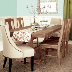 Provence Dining Table | World Market (what do you think about this table for kitchen)@Kellie Harden