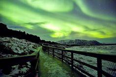 Green Moonlight – Aurora Borealis. Photo #5 by Oli Haukur