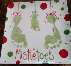MistleToes footprint plate
