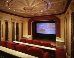 Home theater with Lobby & bar - pic 2 of 2