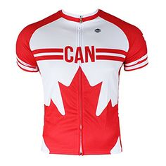 3f869add6 Canada Mens Cycling Jersey Medium   Visit the image link more details.  (Note