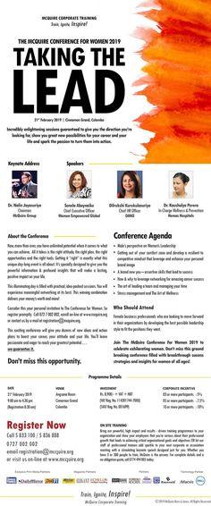 Conference Agenda, Keynote, Women, Woman