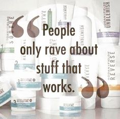 So glad I can finally stop wasting my money trying to find products that work!! Rodan and Fields has 1% return rate! Why? Because they WORK! What other company offers 60 day empty bottle money back guarantee?!  www.jsearing.myrandf.com