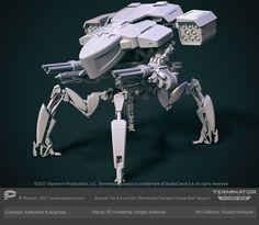 ArtStation - Skynet Assault Battle unit tier 3, Sergey Kolesnik
